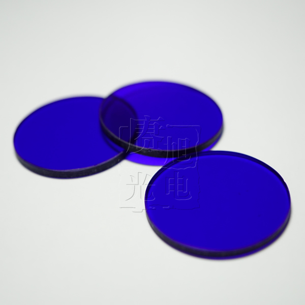 攝像頭專用1.0mm厚度藍玻璃濾光片