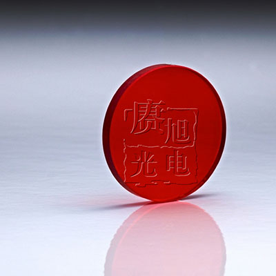 红色玻璃滤光片