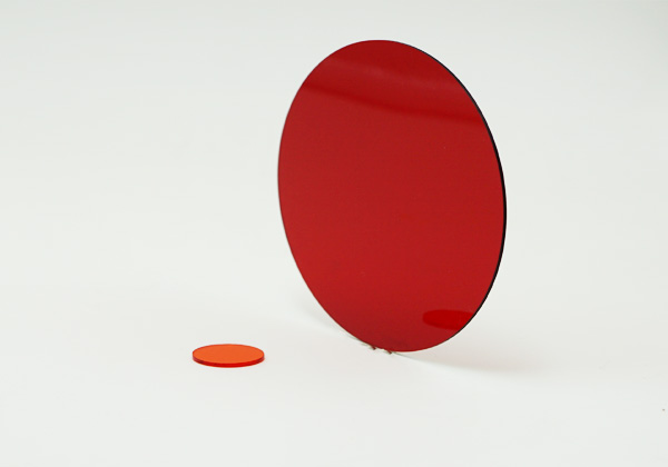 透紅外線紅色亞克力濾光片